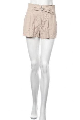 Γυναικείο κοντό παντελόνι H&M Divided, Μέγεθος M, Χρώμα  Μπέζ, Βαμβάκι, Τιμή 4,09€