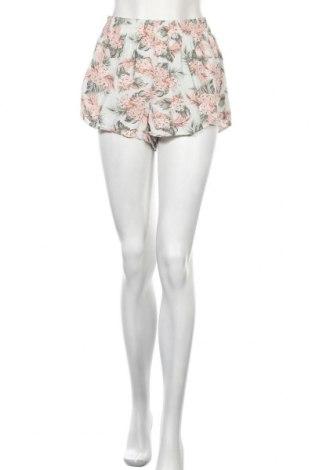 Γυναικείο κοντό παντελόνι H&M Divided, Μέγεθος S, Χρώμα Πολύχρωμο, Βισκόζη, Τιμή 7,53€