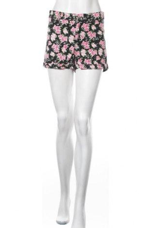 Γυναικείο κοντό παντελόνι H&M Divided, Μέγεθος M, Χρώμα Πολύχρωμο, 98% βαμβάκι, 2% ελαστάνη, Τιμή 7,60€