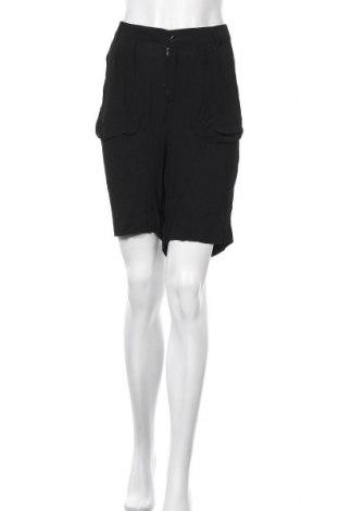 Γυναικείο κοντό παντελόνι Karen by Simonsen, Μέγεθος L, Χρώμα Μαύρο, Βισκόζη, Τιμή 13,16€