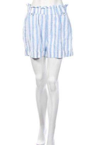 Γυναικείο κοντό παντελόνι Mango, Μέγεθος L, Χρώμα Μπλέ, Λινό, Τιμή 9,87€