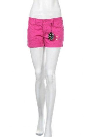 Γυναικείο κοντό παντελόνι Maui And Sons, Μέγεθος M, Χρώμα Ρόζ , Βαμβάκι, Τιμή 12,56€