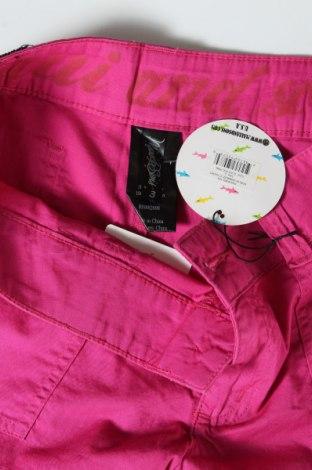 Γυναικείο κοντό παντελόνι Maui And Sons, Μέγεθος M, Χρώμα Ρόζ , Βαμβάκι, Τιμή 12,99€
