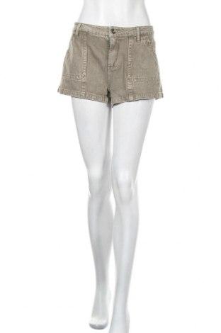 Дамски къс панталон Others Follow, Размер M, Цвят Зелен, Памук, Цена 8,47лв.