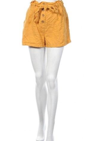 Γυναικείο κοντό παντελόνι Primark, Μέγεθος L, Χρώμα Κίτρινο, Βαμβάκι, Τιμή 9,38€