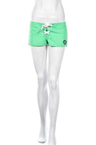 Γυναικείο κοντό παντελόνι Roxy, Μέγεθος S, Χρώμα Πράσινο, Πολυεστέρας, Τιμή 14,94€