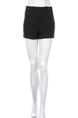 Γυναικείο κοντό παντελόνι Talula, Μέγεθος S, Χρώμα Μαύρο, 97% βαμβάκι, 3% ελαστάνη, Τιμή 4,32€