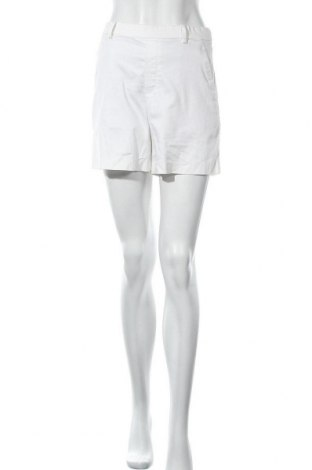 Γυναικείο κοντό παντελόνι Uniqlo, Μέγεθος XS, Χρώμα Λευκό, 97% βαμβάκι, 3% ελαστάνη, Τιμή 8,77€