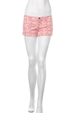 Γυναικείο κοντό παντελόνι United Colors Of Benetton, Μέγεθος M, Χρώμα Ρόζ , 67% βαμβάκι, 30% πολυεστέρας, 3% ελαστάνη, Τιμή 9,74€