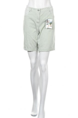 Γυναικείο κοντό παντελόνι Up 2 Fashion, Μέγεθος XL, Χρώμα Πράσινο, 98% βαμβάκι, 2% ελαστάνη, Τιμή 12,70€
