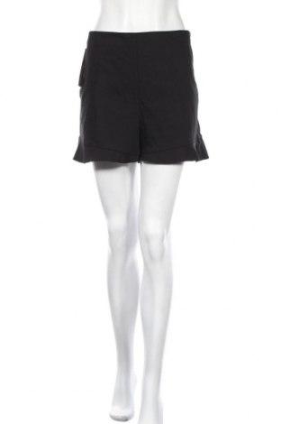 Γυναικείο κοντό παντελόνι Zara, Μέγεθος XL, Χρώμα Μαύρο, 53% βαμβάκι, 44% πολυεστέρας, 3% ελαστάνη, Τιμή 14,65€