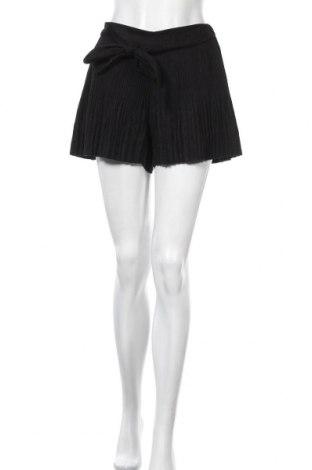 Γυναικείο κοντό παντελόνι Zara, Μέγεθος S, Χρώμα Μαύρο, Πολυεστέρας, Τιμή 14,94€