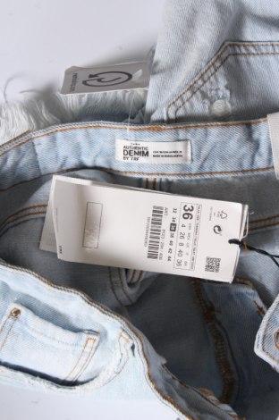 Γυναικείο κοντό παντελόνι Zara Trafaluc, Μέγεθος S, Χρώμα Μπλέ, Βαμβάκι, Τιμή 11,34€