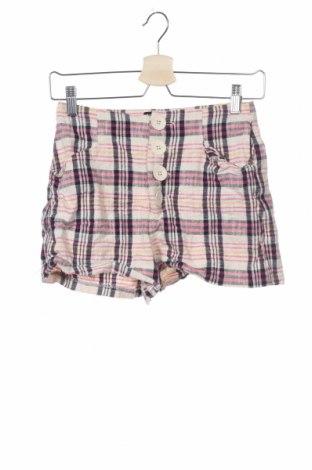 Γυναικείο κοντό παντελόνι Zara Trafaluc, Μέγεθος XS, Χρώμα Πολύχρωμο, 95% βαμβάκι, 5% πολυεστέρας, Τιμή 5,20€
