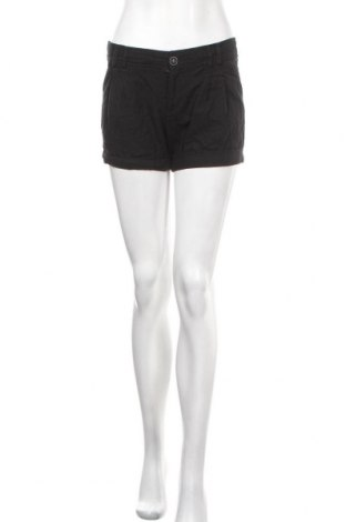 Дамски къс панталон Zenana Outfitters, Размер L, Цвят Черен, 55% лен, 45% вискоза, Цена 11,60лв.