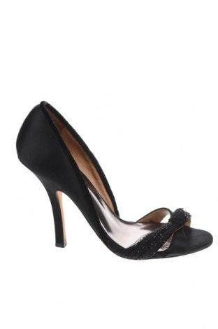 Дамски обувки Badgley Mischka, Размер 38, Цвят Черен, Текстил, Цена 75,26лв.