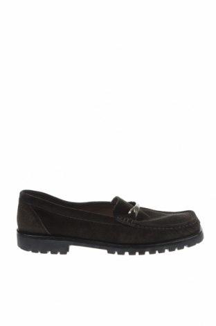 Дамски обувки Bally, Размер 39, Цвят Зелен, Естествен велур, Цена 94,08лв.