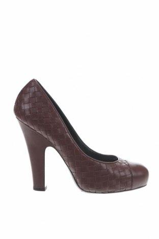 Дамски обувки Bottega Veneta, Размер 38, Цвят Кафяв, Естествена кожа, Цена 263,16лв.