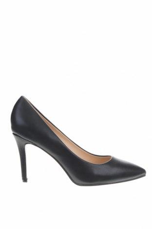 Γυναικεία παπούτσια CAFèNOIR, Μέγεθος 40, Χρώμα Μαύρο, Δερματίνη, Τιμή 42,14€