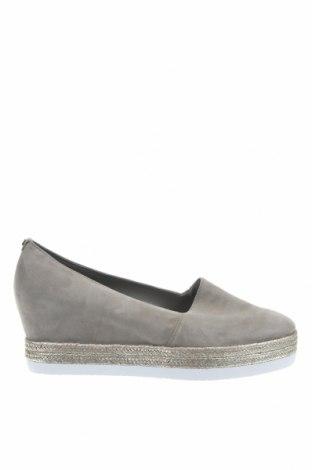 Γυναικεία παπούτσια Hogl, Μέγεθος 41, Χρώμα Γκρί, Φυσικό σουέτ, Τιμή 30,80€