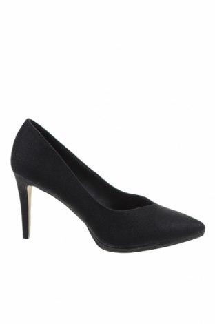 Γυναικεία παπούτσια Menbur, Μέγεθος 40, Χρώμα Μαύρο, Κλωστοϋφαντουργικά προϊόντα, Τιμή 37,11€