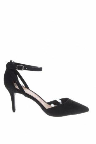 Γυναικεία παπούτσια New Look, Μέγεθος 40, Χρώμα Μαύρο, Κλωστοϋφαντουργικά προϊόντα, Τιμή 22,81€