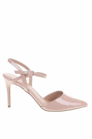 Дамски обувки New Look, Размер 41, Цвят Розов, Еко кожа, Цена 37,73лв.