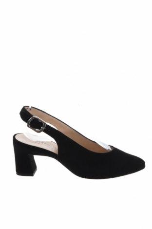 Дамски обувки Peter Kaiser, Размер 35, Цвят Черен, Естествен велур, Цена 68,70лв.