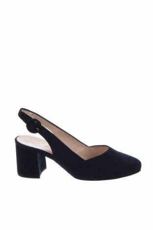 Γυναικεία παπούτσια Peter Kaiser, Μέγεθος 35, Χρώμα Μπλέ, Φυσικό σουέτ, Τιμή 47,22€
