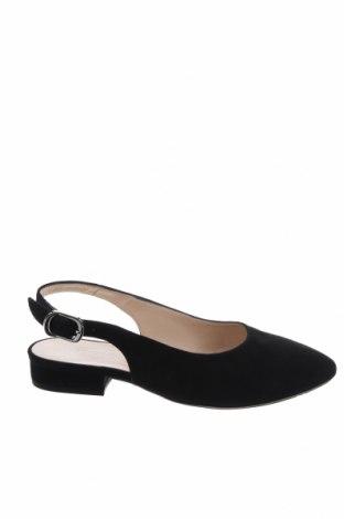 Γυναικεία παπούτσια Peter Kaiser, Μέγεθος 35, Χρώμα Μαύρο, Φυσικό σουέτ, Τιμή 47,22€