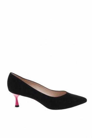 Γυναικεία παπούτσια Peter Kaiser, Μέγεθος 41, Χρώμα Μαύρο, Φυσικό σουέτ, Τιμή 27,15€