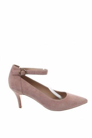 Дамски обувки Pier One, Размер 42, Цвят Розов, Естествен велур, Цена 34,88лв.