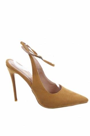 Дамски обувки Public Desire, Размер 41, Цвят Жълт, Текстил, Цена 39,50лв.