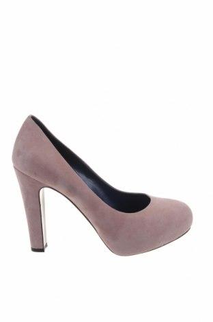 Γυναικεία παπούτσια Studio Pollini, Μέγεθος 37, Χρώμα Ρόζ , Φυσικό σουέτ, Τιμή 97,68€