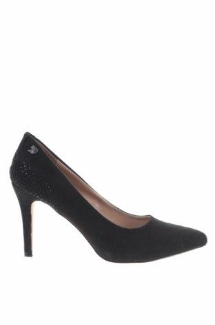 Дамски обувки Tom Tailor, Размер 40, Цвят Черен, Текстил, Цена 36,57лв.