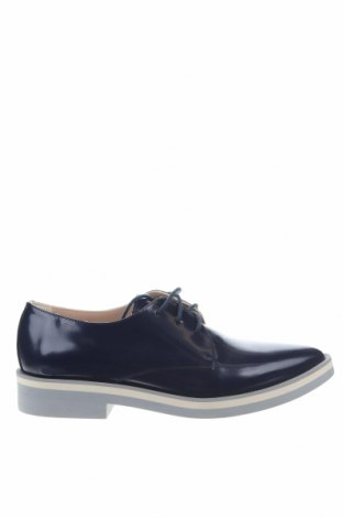 Дамски обувки Weekend Max Mara, Размер 36, Цвят Син, Естествена кожа, Цена 98,80лв.
