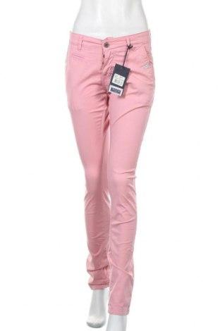 Дамски панталон, Размер S, Цвят Розов, 98% памук, 2% еластан, Цена 11,50лв.