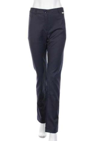 Дамски панталон CAFèNOIR, Размер M, Цвят Син, 64% полиестер, 34% вискоза, 2% еластан, Цена 24,92лв.