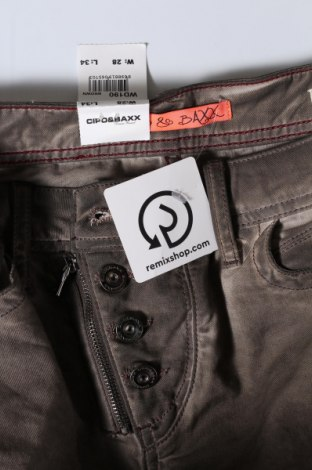 Дамски панталон Cipo & Baxx, Размер M, Цвят Кафяв, 98% памук, 2% еластан, Цена 21,42лв.