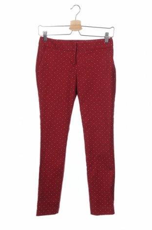 Γυναικείο παντελόνι Express, Μέγεθος XS, Χρώμα Κόκκινο, 97% βαμβάκι, 3% ελαστάνη, Τιμή 12,15€