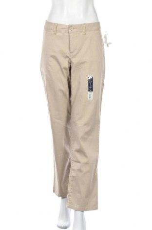 Дамски панталон Faded Glory, Размер M, Цвят Бежов, 98% памук, 2% еластан, Цена 8,93лв.