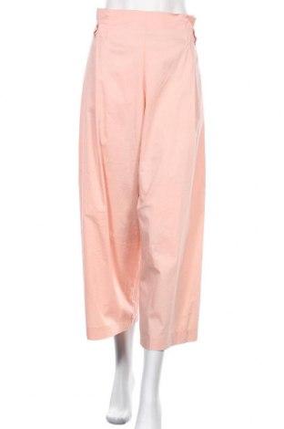 Pantaloni de femei Floreiza, Mărime M, Culoare Roz, 61% bumbac, 36% poliamidă, 3% elastan, Preț 77,59 Lei