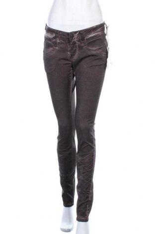 Дамски панталон Gang, Размер M, Цвят Лилав, 60% лиосел, 38% памук, 2% еластан, Цена 28,62лв.