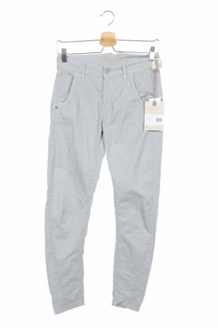 Дамски панталон Gang, Размер XS, Цвят Сив, 97% памук, 3% еластан, Цена 47,70лв.