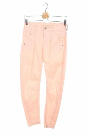 Дамски панталон Gang, Размер XS, Цвят Розов, 97% памук, 3% еластан, Цена 47,70лв.