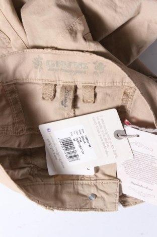 Дамски панталон Gang, Размер S, Цвят Бежов, 97% памук, 3% еластан, Цена 12,72лв.