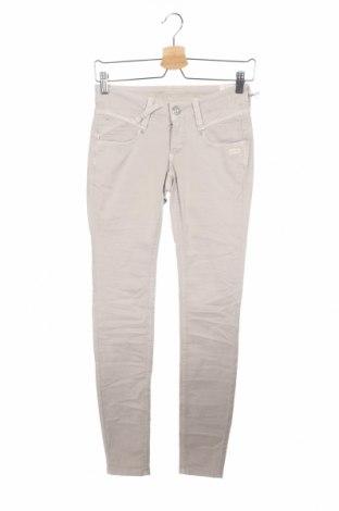 Дамски панталон Gang, Размер XS, Цвят Бежов, 95% памук, 5% еластан, Цена 44,52лв.