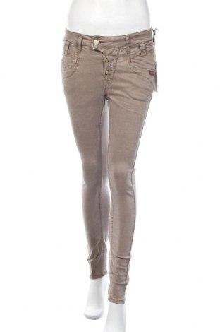Дамски панталон Gang, Размер S, Цвят Кафяв, 60% лиосел, 38% памук, 2% еластан, Цена 44,52лв.