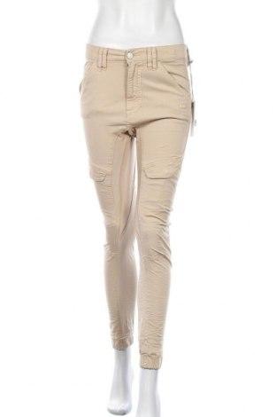 Дамски панталон Gang, Размер S, Цвят Бежов, 97% памук, 3% еластан, Цена 15,90лв.
