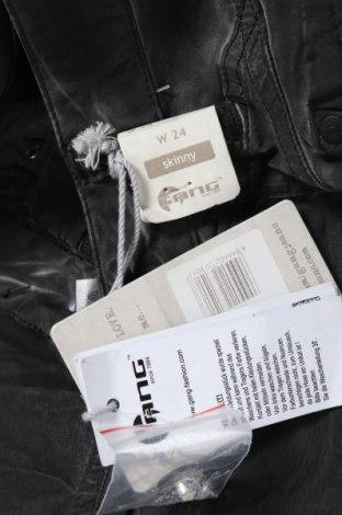 Дамски панталон Gang, Размер XXS, Цвят Сив, 60% лиосел, 38% памук, 2% еластан, Цена 28,62лв.